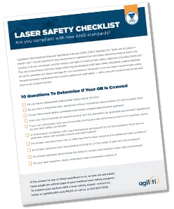 Agiliti - Laser Safety Checklist