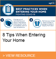 Resource: 8 tips when entering your home